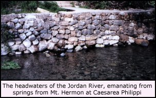 Headwaters of Jordan River